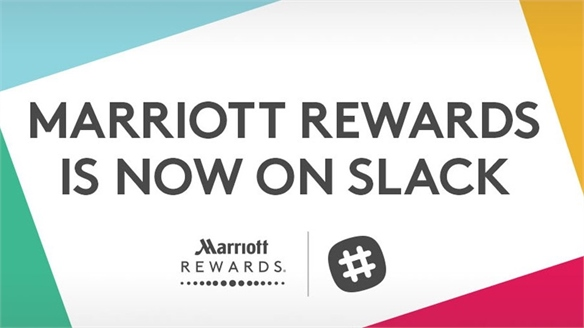 Marriott Introduces Slack Hotel Bookings