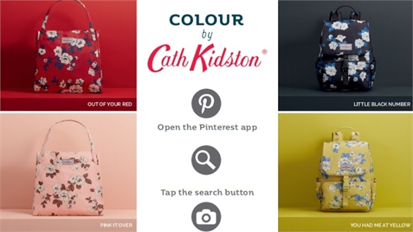 Cath Kidston Capitalises on Pinterest's Lens Tool