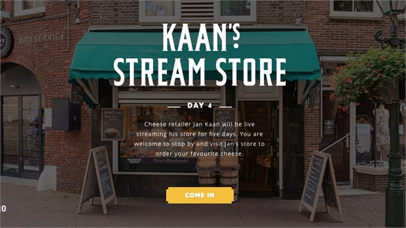 Dutch Cheese Shop Boosts Sales with Live Stream