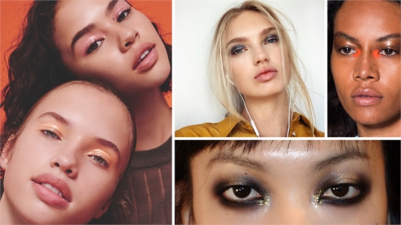Beauty: Glossy Eyes Light Up NYFW