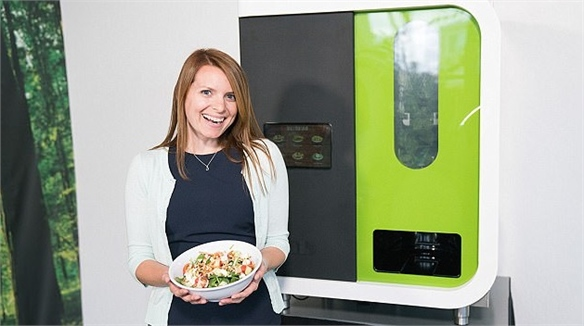 Customisable Salad Vending Machine