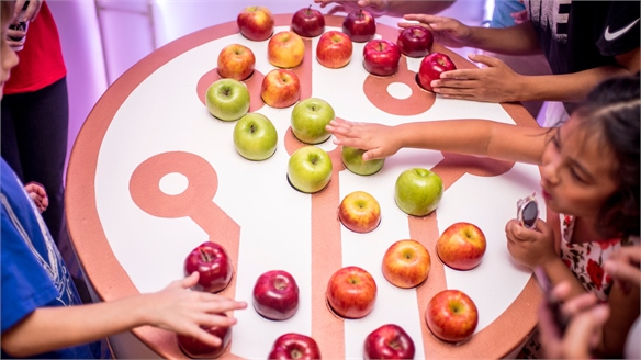 Tech-Inspired Children's Dining