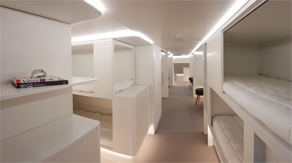 The Reimagined Aeroplane Cargo Hold