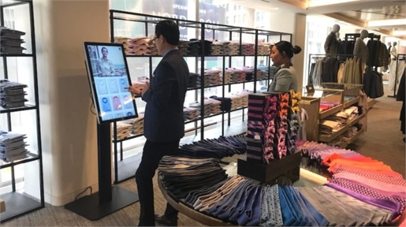 Nordstrom's Tech-Powered Menswear Store, NY