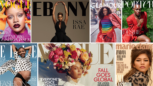 Black Women Dominate September Covers