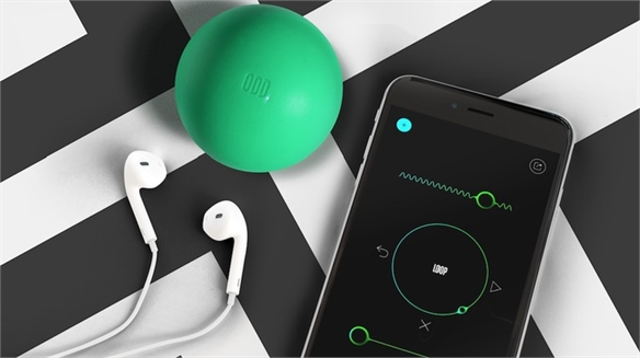 Sensor-Fitted Ball Creates New UX Language for Music-Making