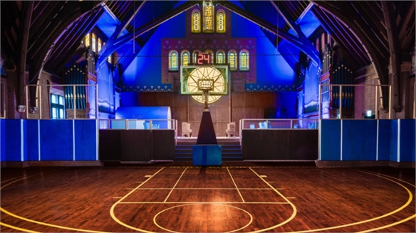 Nike Converts Church into Basketball Summer Camp