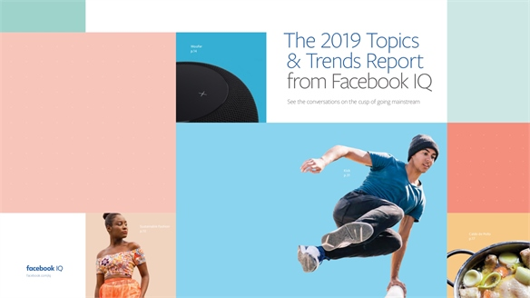 We contributed to Facebook's 2019 Topics & Trends Report