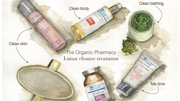 Organic Pharmacy Launches Lunar Cleanse