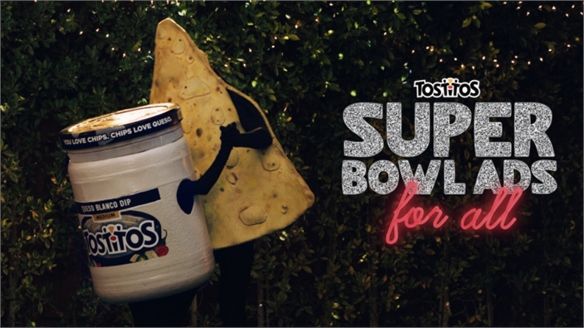 Tostitos' Personalised Pre-Super-Bowl Ads