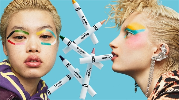 Crayon Make-Up Products Inspire Play