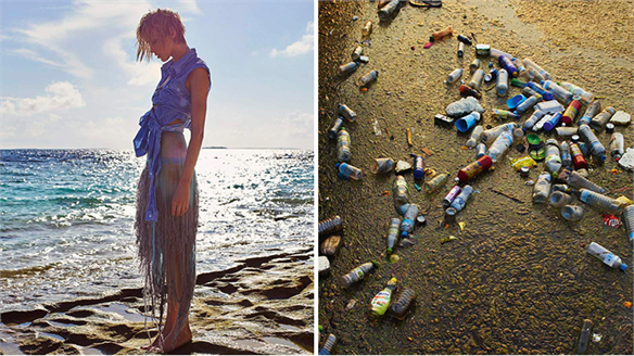 Porter Magazine X Parley: Ocean Plastic Campaign