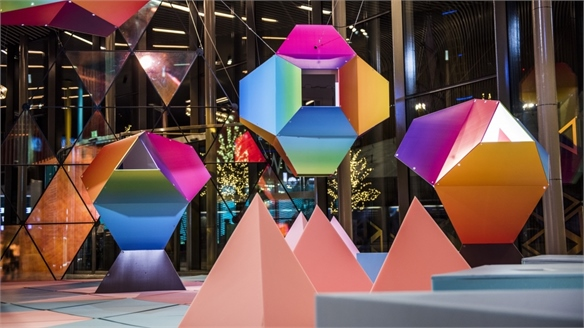Immersive Exhibition Explores Chromotherapy