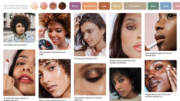 Pinterest's New Inclusive Search Tool