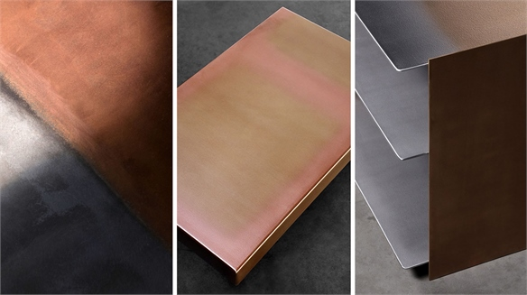 Designer Paints with Metal for New Furniture Venture