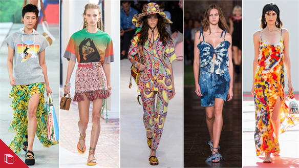 S/S 19: Psychedelic Vacation