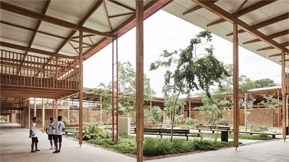 School Employs Local Architecture to Create a Sense of Home