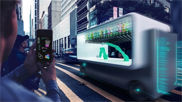 Driverless Drinks Cart You Can Hail Like an Uber
