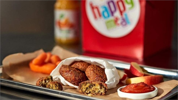 McDonald's Sweden Launches Vegan Happy Meal