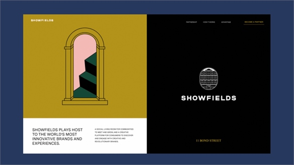 Showfields Reimagines the Department Store as E-Brand Expo