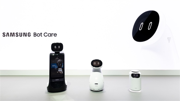 CES 2019: Samsung Bots Take On Care, Retail & Air Quality