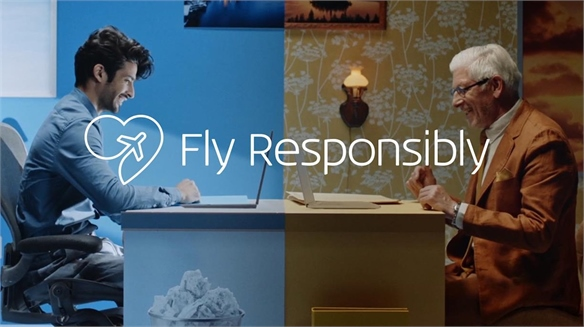 KLM Encourages Passengers to Fly Less