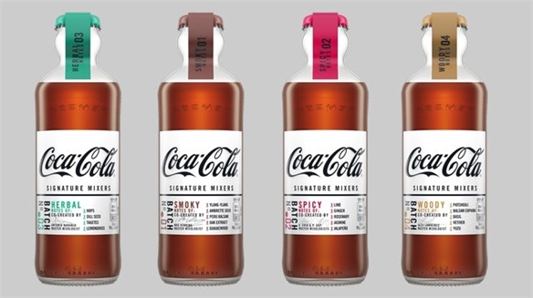 Coca-Cola Launches Dark Spirit Mixers