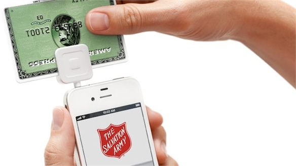 Salvation Army Accepts Mobile Payments