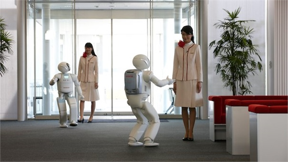 Robots-Humans: New Partners