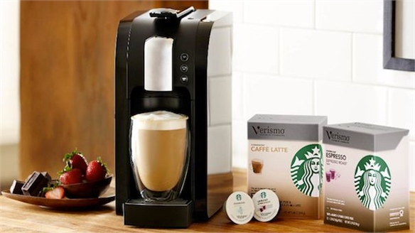 Verismo Coffee Machine: Starbucks at Home