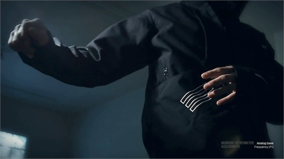 Gesture-Controlled Musical Jacket