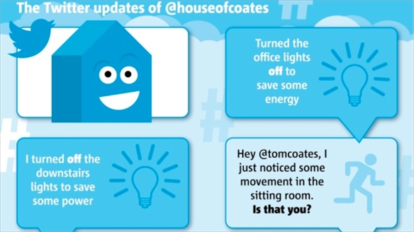 The Tweeting Home: House of Coates