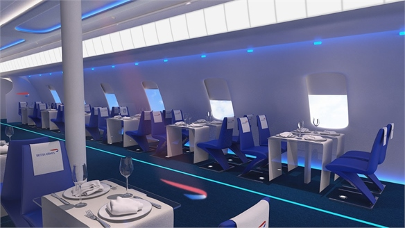 British Airways' Pop-Up Restaurant