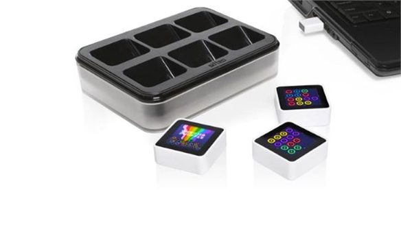 Sifteo Cubes at CES