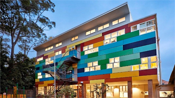GGF Architects: Wahroonga Preparatory School