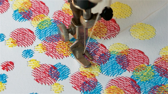 Custhom's CMYK Embroidery