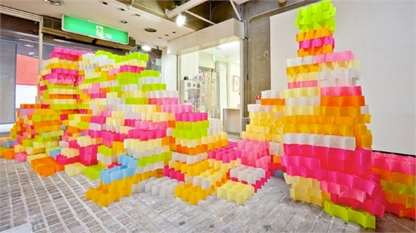Architectural Post-it Notes