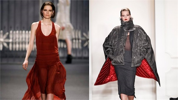 NY Fashion Week: Asymmetric Hems