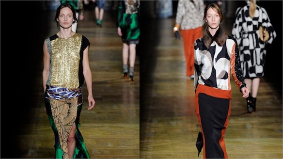 Dries Van Noten: Paris A/W 2011-12