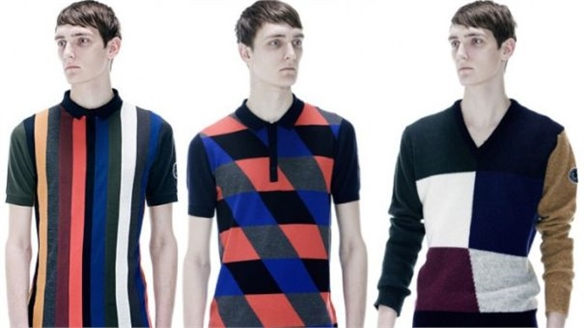 Raf Simons x Fred Perry S/S 2013