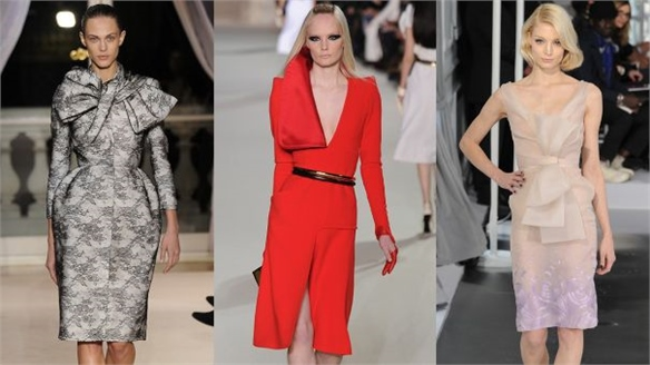 Spring 2012 Couture: A Play on Scale