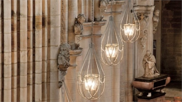 Matali Crasset Cathedral Chandeliers