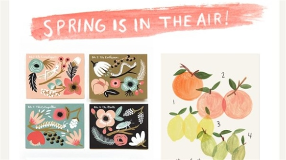 Spring Stationery at Rifle Paper Co.