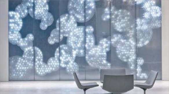 Honeycomb: Swarovski Crystal Walls of Light