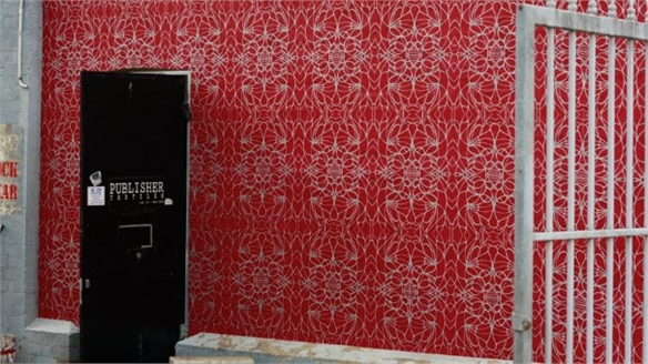Publisher Textiles: Exterior Wallpaper