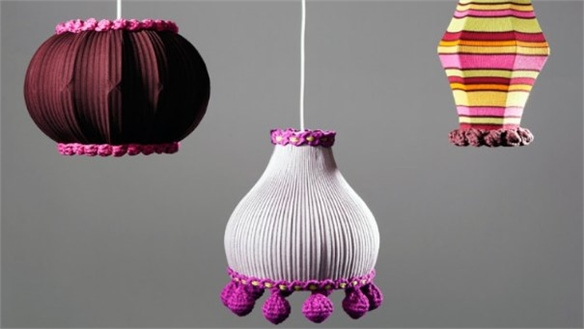 Uplifted Lampshades by Deryn Relph