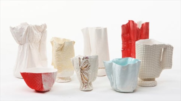 Porcelain Tableware by Rachel Boxnboim