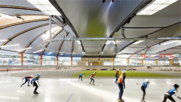 Germany's 'Low E' Speed-Skating Venue