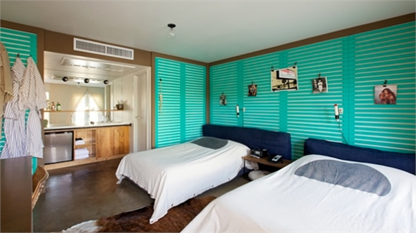 Ace Hotel Uses Comex Colours