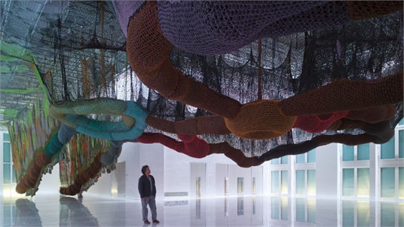Ernesto Neto: Net Sculptures